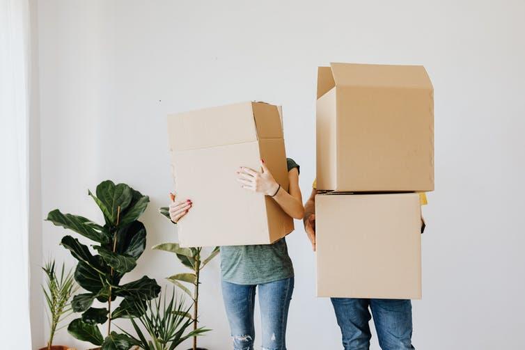 Les personnes ayant des biens en commun ont une probabilité ajustée d'avoir continué à vivre ensemble de 26% contre 12% pour celles qui n'en ont pas